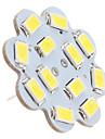 6W G4 Takglödlampa 12 SMD 5630 560 lm Naturlig vit DC 12 V