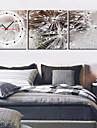 Horloge murale scénique moderne dans la toile 3pcs k0027