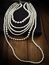 Collana Layered Pearl Donna