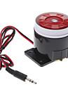 120dB högt Säkerhet Larm Siren Horn Speaker Summer (DC 6 ~ 16V, Svart Röd)