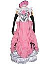 Inspiré par Black Butler Ciel Phantomhive Anime Costumes de cosplay Costumes Cosplay / Robes Mosaïque Rose Sans Manches Robe