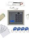 Fristående Access Controller Kit (elektrisk Bolt, 10 EM-ID-kort, strömförsörjning)