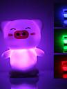 Mignon de porc en forme de lampe colorée Night Light LED (3xLR44)