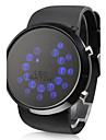 Rall minge model LED albastru ceas de mână