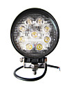 27W Round 9 Lampe de travail LED