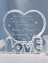 Cake Topper Personalized Hearts Crystal Wedding / Bridal Shower / Anniversary Classic Theme Gift Bag