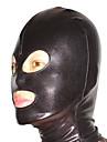 Mask Ninja Zentai Cosplay Kostymer/Dräkter svart Enfärgat Mask Spandex Unisex Halloween / Jul