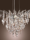 8-Lights Crystal Pendant Light