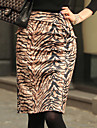 ALAN Fashion Tiger Grain Bodycon Rok (Slim Fit)