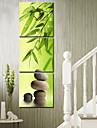 modern stil natursköna canvas väggklocka 3st k166