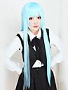 Cosplay Peruker Cosplay Kuroko Tetsuya Blå Lång Animé Cosplay Peruker 100 CM Värmebeständigt Fiber Kvinna