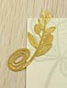 Aliaj Zinc Favoruri practice Semne de Carte & Cuțite pentru Scrisori Temă Grădină Auriu