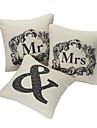Jeu de l'Amour En couple 3 Coton / Linge de maison Coussin décoratif