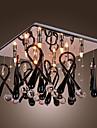 GENESEE - Lustre Cristal - 8 slots à ampoule