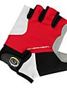 Mesh + tissu + fibre antidérapant + Gants de vélo respirant Demi-Finger 41212