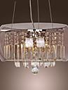 moderna kristall hänge ljus med 3 lampor (G9 lampa bas)