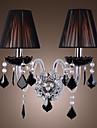 MAMARONECK - Lampe Murale Cristal Abat-Jour - 2 slots à ampoule