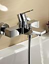 Sprinkle®-badkarskranar Centerset / Väggfäste with Krom Enkelt handtag Två hål