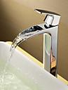 saupoudrez ® par LightInTheBox - entraxe de laiton massif finition chromée robinet d'évier simple poignée de salle de bains (hauteur)