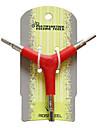 Multifunktion Stål + Zink Inuti Sexkantig Bicycle Repair Tool 23.281-2 (4/5/6mm)