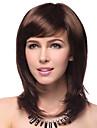 Högsta kvalitet kvalitet syntetisk Raka brunt hår peruker 5 färger att välja