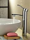 finition chromée robinetterie en laiton massif évier salle de bains (hauteur)