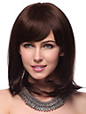 Capless moyen Droite 100% Human Hair Wigs avec 2 couleurs au choix