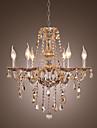 kristallkrona med 6 lampor
