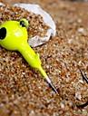 têtes plombées Jig Head Métal Lure Fishing 7g d'amortissement (15pcs)