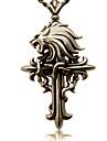 Bijoux Inspiré par Final Fantasy Cloud Strife Manga/Jeux Vidéo Accessoires de Cosplay Colliers Doré Alliage Masculin