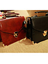 Kvinnors trendiga Härlig Solid Color Crossbdy Bag