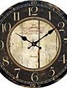 pays euro cru horloge murale