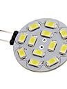 6W G4 Spot LED 12 SMD 5730 570 lm Blanc Naturel DC 12 V