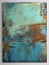 Peint à la main AbstraitClassique / Traditionnel Un Panneau Toile Peinture à l'huile Hang-peint For Décoration d'intérieur