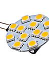 GU4 1,5W 12x5050 MD 70 LM 2700K LED-potlight med varmt vitt lju (12V)