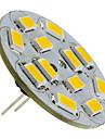 6W G4 Spot LED 12 SMD 5730 570 lm Blanc Chaud DC 12 V