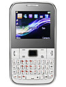 Teléfono C3 Doble SIM  pantalla de 2.0 pulgadas/ Teclado QWERTY (Camera, JAVA, TV,FM,Quadband)