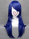 Cosplay Peruker Cosplay Kotamo Ichinose Blå Medium Animé/ Videospel Cosplay Peruker 60 CM Värmebeständigt Fiber Kvinna