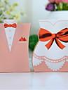 roz tuxedo & rochie cutie favoarea (set de 12)