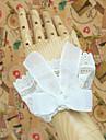 Handgjorda Vita spetsband Classic Lolita Wrist Cuffs
