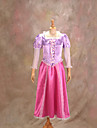 Rapunzel Purple Cosplay Dress Halloween Costume(2 Pieces)