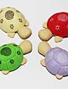 détachables gomme en forme de tortue (2pcs de couleur aléatoire)