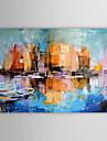 peinture à l'huile abstraite toile peinte à la main 1304-ab0455
