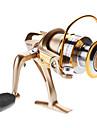 Moulinet pour pêche Moulinet spinnerbaits 5.1:1 6 Roulements à billes Echangeable / Droitier / Gaucher Pêche en mer / Pêche d'eau douce