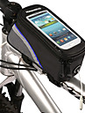 Bike Frame Bag /Phone Bag 4.2 Inch Bicycle Front Bag New Design Touchable Mobile Phone Screen for Iphone 4/5/5S/5C or other similar size smart phone