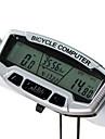 Sunding plast Night Vision 28 Funktioner Vattentät cykeldator SD-558A (Silver)