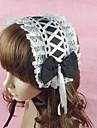 Bijuterii Clasic/Traditional Lolita Veșminte de cap Prințesă Lolita Accesorii Accesoriu de Păr 纯色 Nod Papion Dantelă Pentru Bumbac