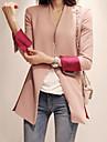 Femei Contrast culoare Slim Cut Blazer