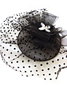 Women's Rhinestone Net Headpiece-Special Occasion Fascinators