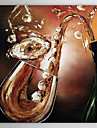Hand målad oljemålning Abstrakt 1305-AB0562